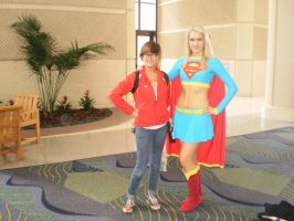 Supergirl by NomTheCat