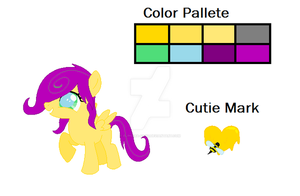 Honey Heart .:CUTIE MARK ADDED:. by Elphaba-Fang