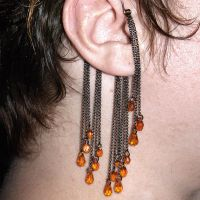 Topaz ear wrap by YouniquelyChic