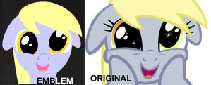 Black Ops 2 Derpy Hooves Emblem by WizE-KevN