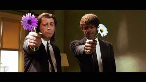 Pulp Fiction PG-13 by 2HeadedMonster