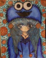 cookie monster by lyndzee421