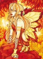 Autumn fairy by Namtia