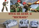 Michael as a Stug III Model Kit by TigerFey