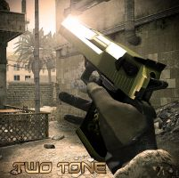 Two-Tone Desert Eagle skin (CoD4) by GuMNade