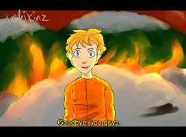 Kenny Goes To Hell by xCuteiKinz