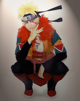 Naruto Uzumaki - FanArt Cosplay by TessaCrownster