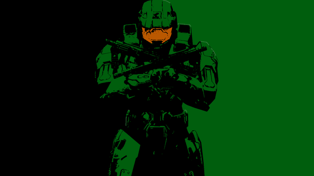 Master Chief Wallpaper by DrBrainBasher