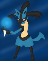 Lucario by BoWhatElse