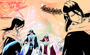 Byakuya wallpaper by Ishily