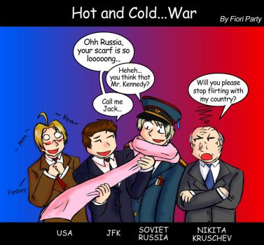 APH - Hot and Cold... War by fiori-party