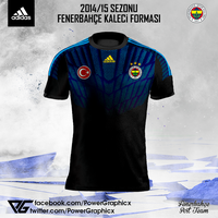 2014/2015 Fenerbahce Kaleci Formasi-2 by Power-Graphic
