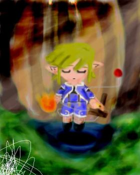 Watercolor - Genis Link by e-Link