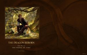 The Dragon Reborn ebook cover art wallpaper by ArcangHell