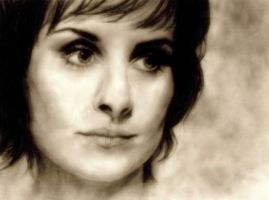 Enya Portrait by Embers