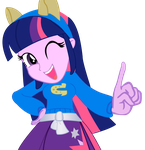 Twily Equestria girls by IamAquaMarine