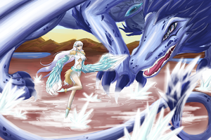 SOC--- Storyquest 7--- Winter Battle by Kyandii-Chi