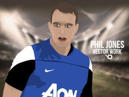 Phil Jones Vector by bluezest1997
