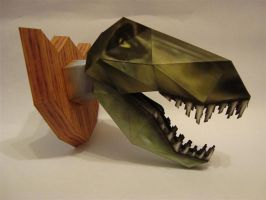 Paper-T-rex by KarenGE