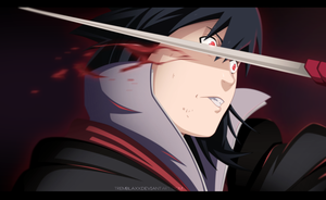 Sasuke vs Bee by Tremblax