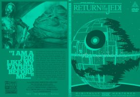Return of the Jedi DVD Cover by TomBerryArtist