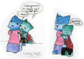 Funny Hugs by Joava