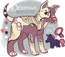 [Pup] Desdemona by lithxe