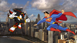 Shadow Vs Superman by CyrilSmith