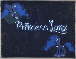 Princess Luna Background by Angelicsweetheart
