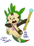 Charlie the Chespin by Proshi