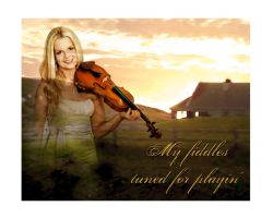 My fiddle is Tuned 2 by Godshorsegirl