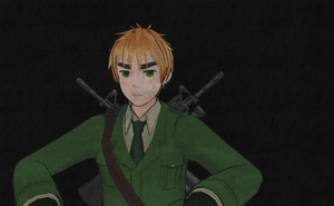 Call of Hetalia: England by Shinigami-Spartan