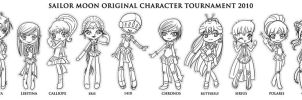 SMOCT Character Chibis by AJ-Reaper