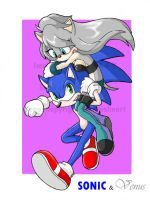 Contest- Sonic and Venus by S-A-F-R
