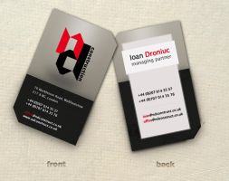 N_D business card by marame