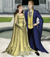 Belle and her Prince--Lord of the Rings Style by LadyAquanine73551