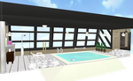 MMD indoor pool by amiamy111