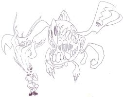 Otherside concept - Amoru v. Headcrab Unbirth by EB-the-GAMER