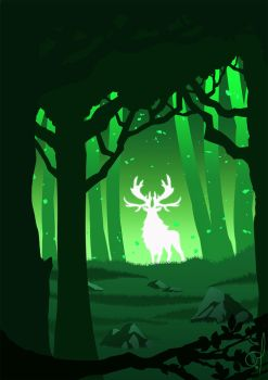 Spirit Of The Forest by OGARart