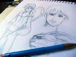 ROTG - Sketches by ingridsailor2009