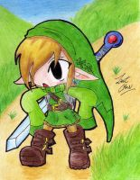 Link, The Hero by ZantChan