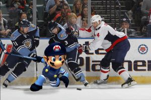 Mario in the NHL by FJOJR