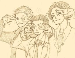 Team Free Will by KuroLaurant