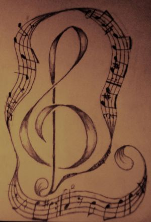 music notes tattoo designs