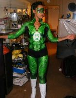Green Lantern Body Painting by mutilatedgothchild