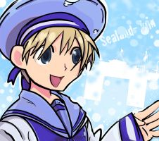 Sealand kun color by FlabberGhaster