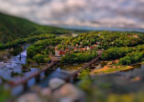 Harpers Ferry Tilt Shift 1 v2 by CharlesWb