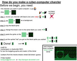 "how to make ""cyber-cpu"" char by Bar-Kun"