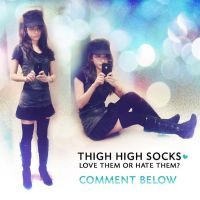 Thigh High Socks by Red-Eclipse