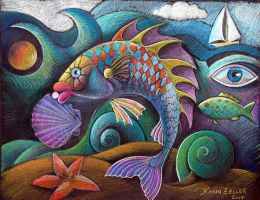 fancy fish by karincharlotte